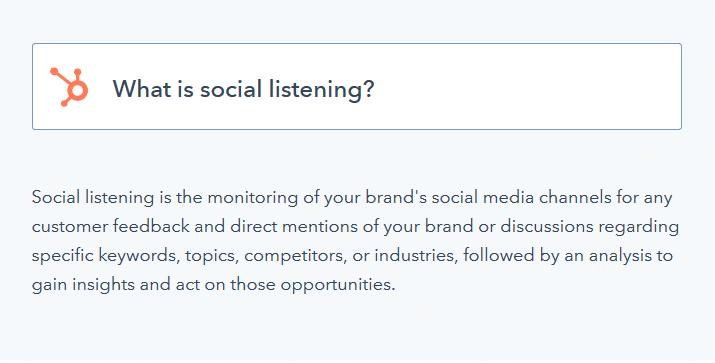 l ecoute social