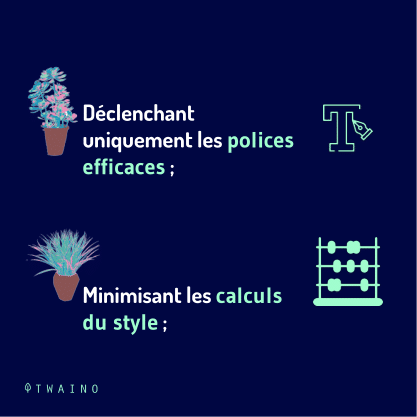 Carrousel AMP Partie 3-08 Polices efficaces