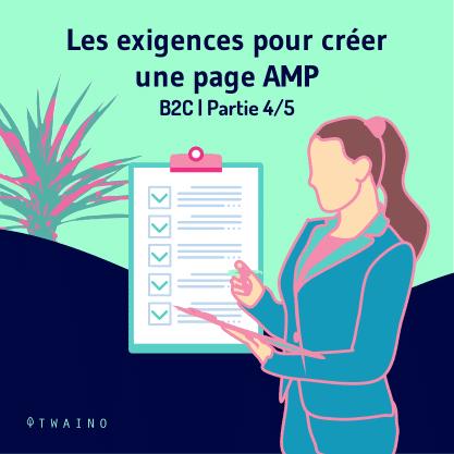 Carrousel AMP Partie 4-01 Exigences pour creer une page AMP