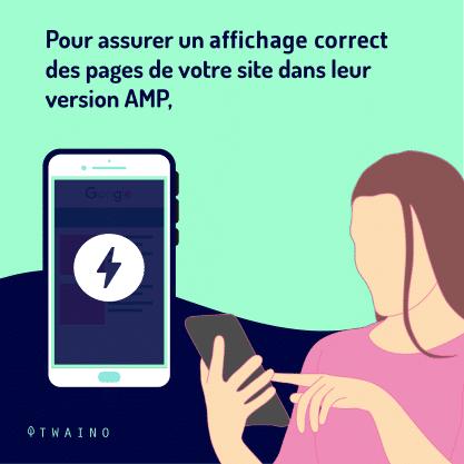 Carrousel AMP Partie 4-02 Assurer un affichage correct des pages