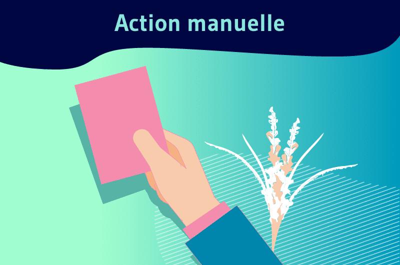 action manuelle
