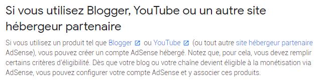 utiliser AdSense sur votre blog