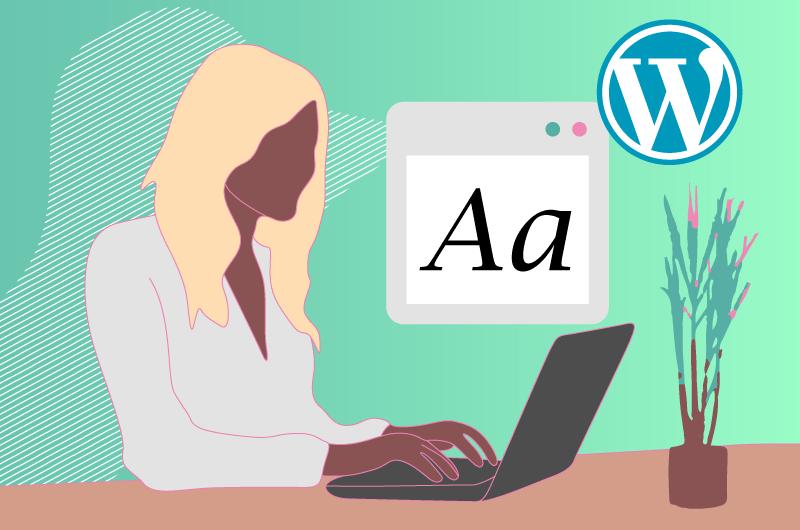 Comment intégrer des polices sur wordpress blog