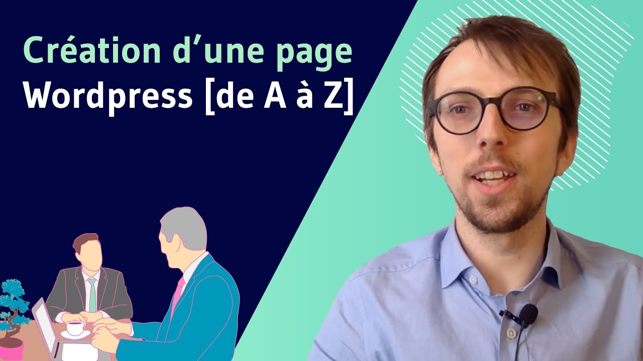 Creation d une page Wordpress
