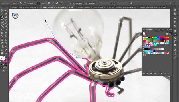 Dessin petit araigné google
