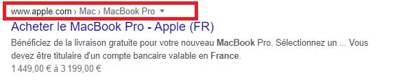Acheter le MacBook Pro