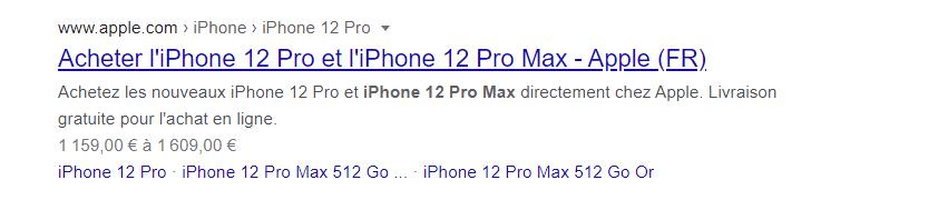 Acheter l iphone 12 pro et l iphone 12 pro max