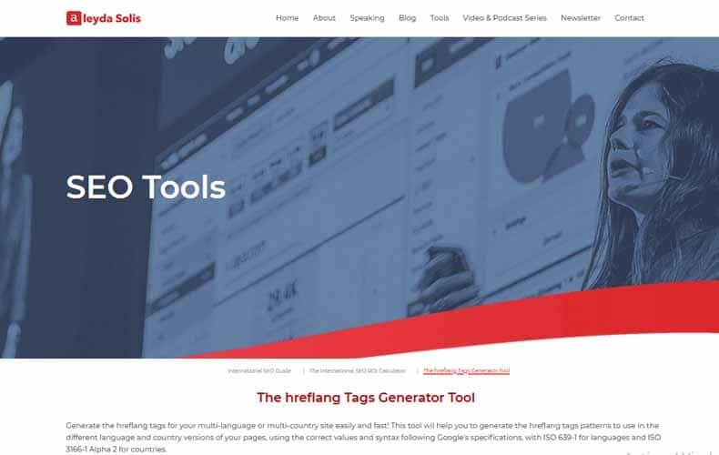The hreflang Tags Generator Tool