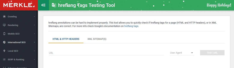 hreflang Tags Testing Tool