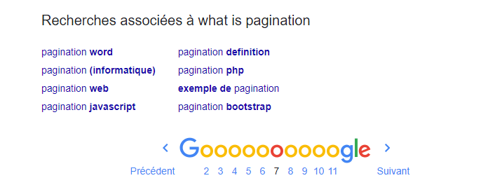 Recherches associes a what is pagination