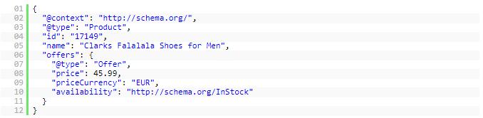 Bout de code compile par les moteurs de recherche
