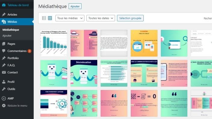 Mediatheque WordPress