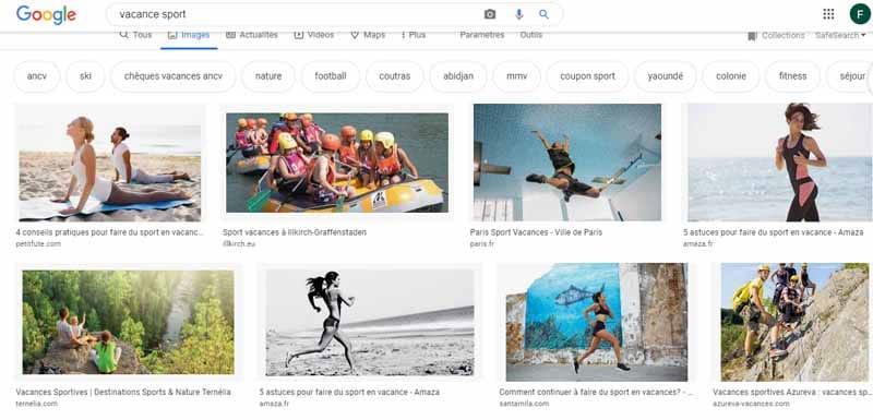 Google images vacance sport