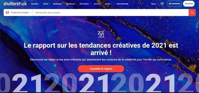 shutterstock le rapport sur les tendances creatives de 2021 est arrive