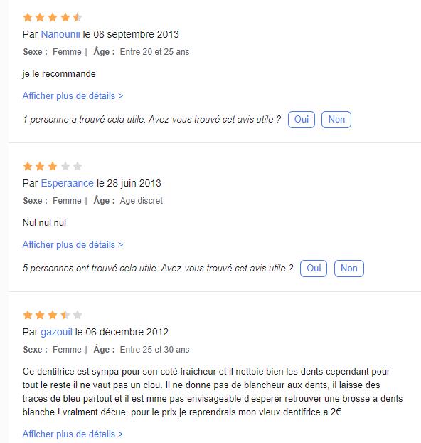 bonnes et mauvaises critiques