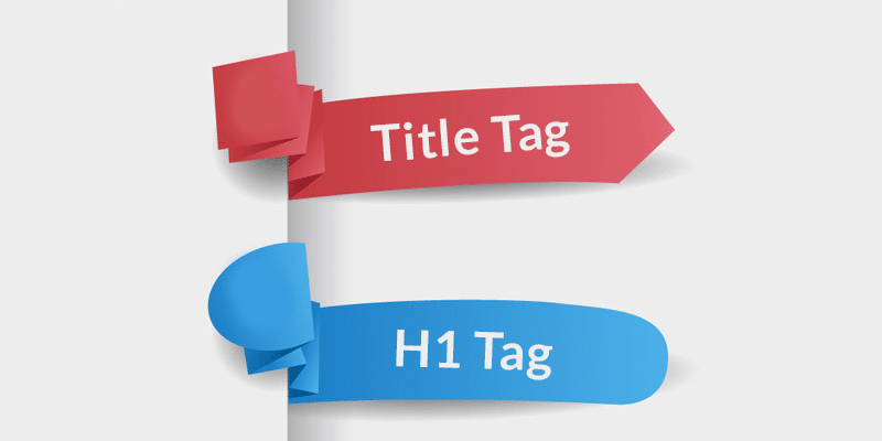 Title Tag H1 Tag