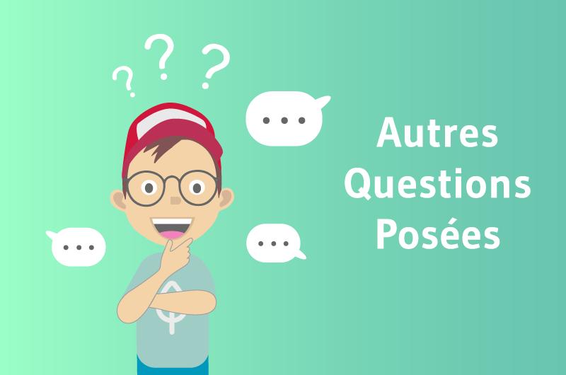 Autres questions posées Outil