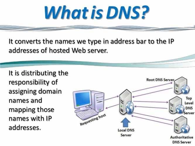 Qu est ce que le DNS