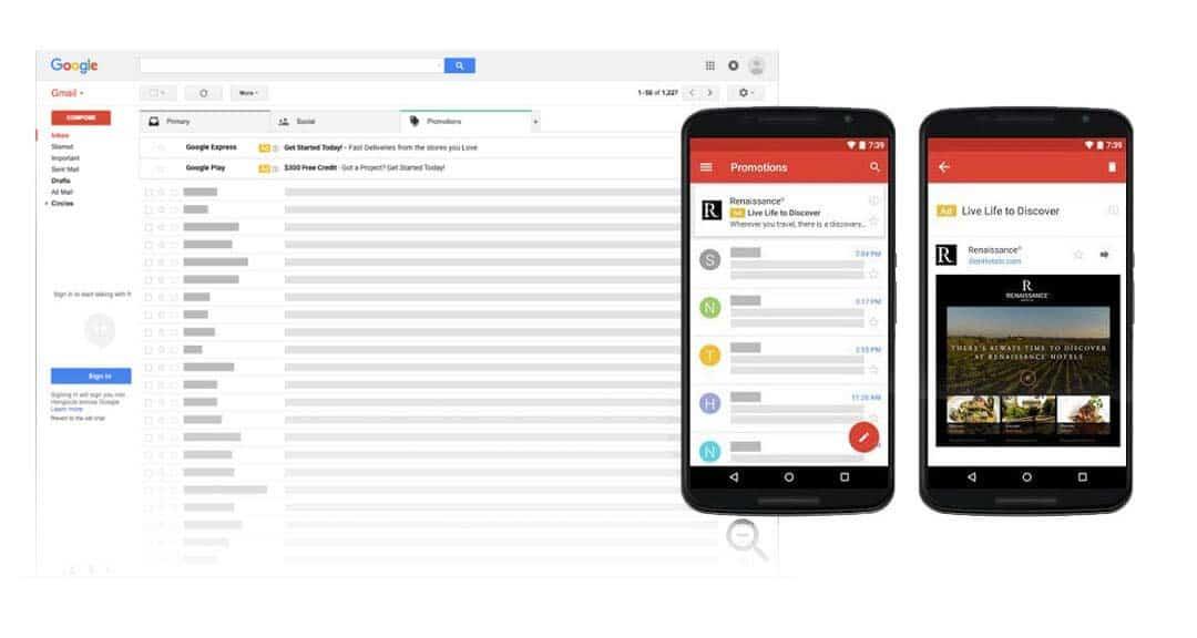 Echange sur Gmail