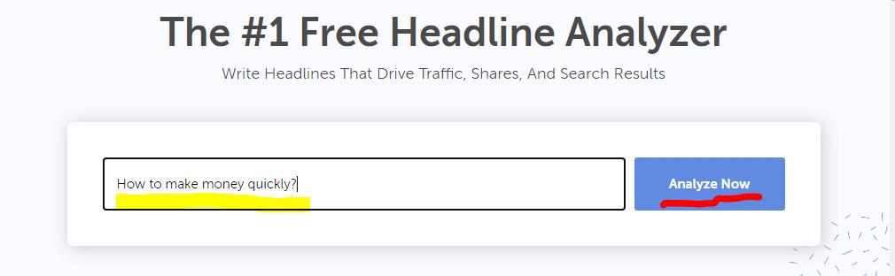 The 1 Free Headline Analyser