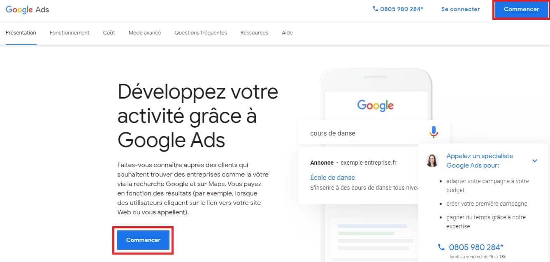 Developpez votre activite grace a Google Ads