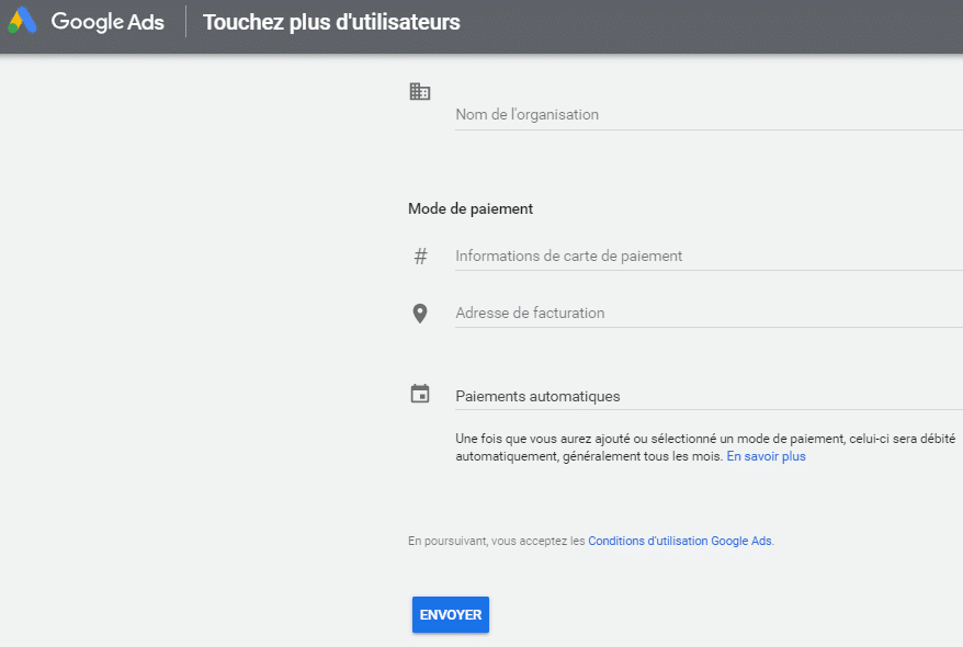 Touchez plus d utilisateurs