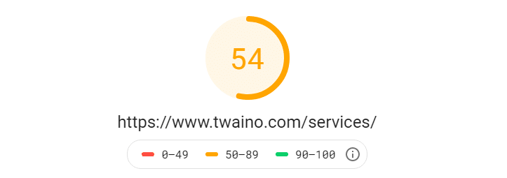 Analyse url site web twaino