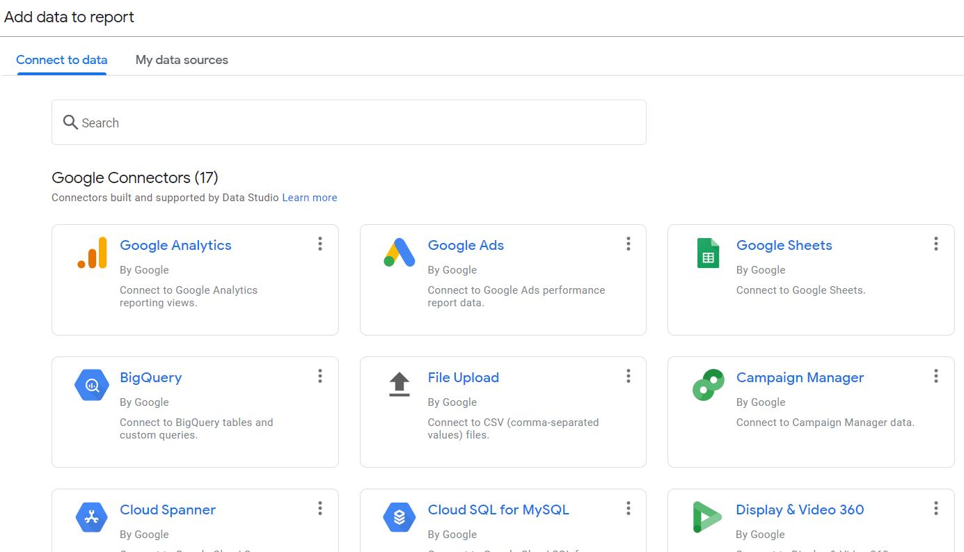 Add data to report