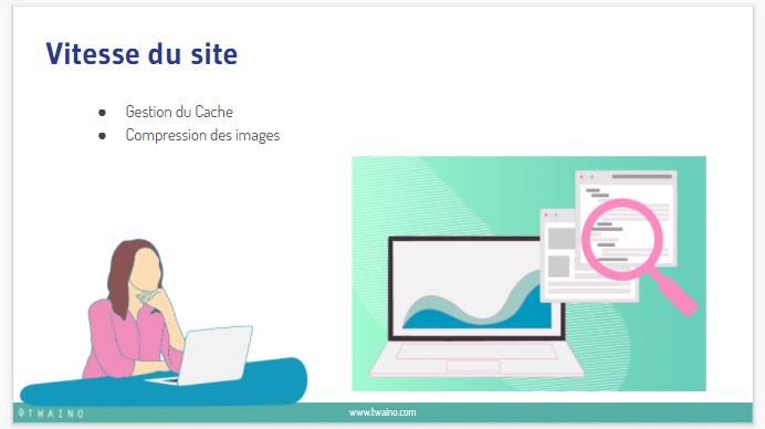 Vitesse du site