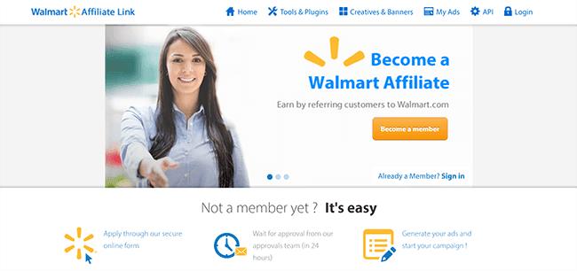 Walmart Affiliates