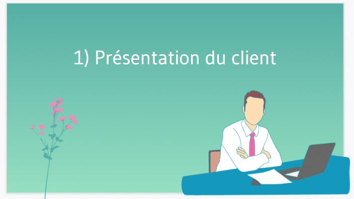Presentation du client
