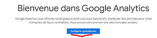 Outil Google Analytics
