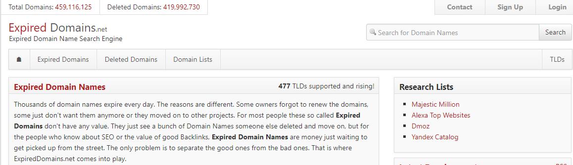 ExpiredDomains.net