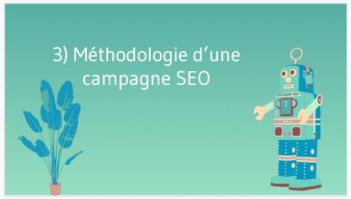 Methodologie d une campagne seo