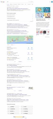 recherche seo gogle