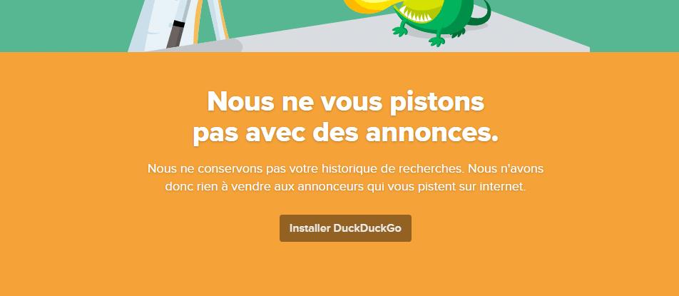 Installer DuckDuckGo