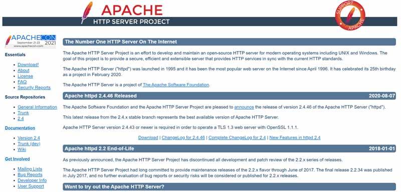 Serveur HTTP Apache
