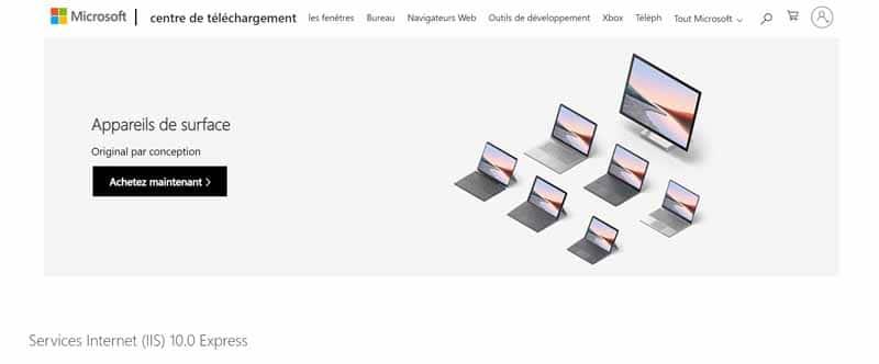 Microsoft Internet Information Services (IIS)