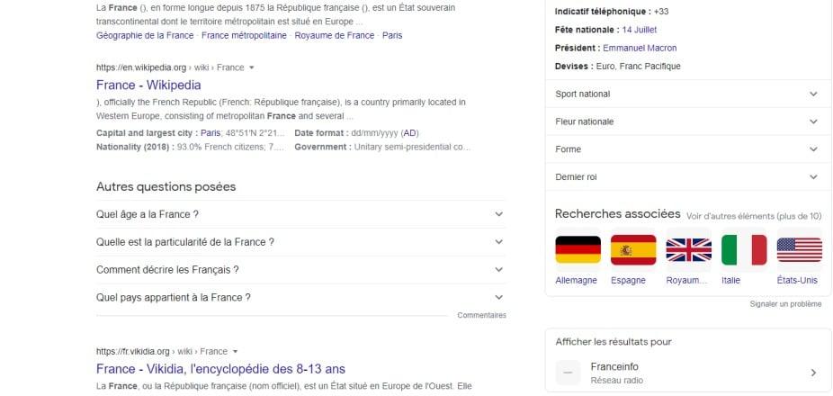 Recherche google france (2)