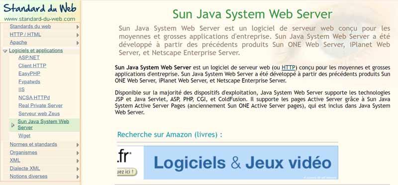 Serveur Web Sun Java System