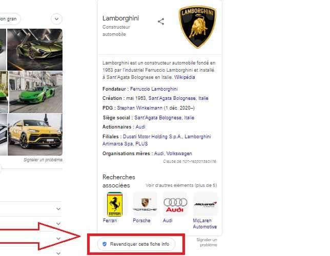 Recherche Lamborghini