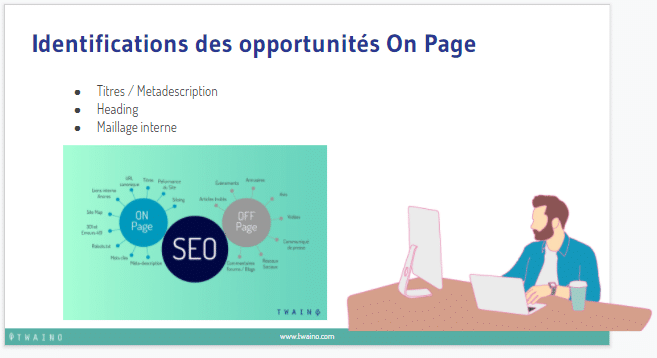Identifications des opportunites on page