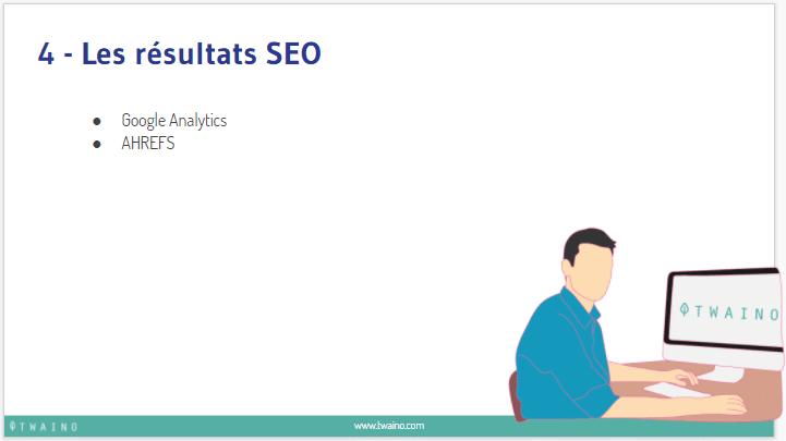 Les resultats seo