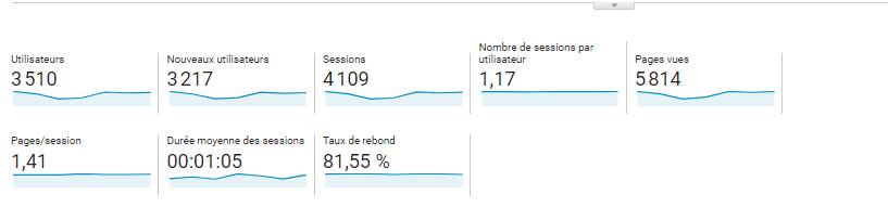 Visiteurs Uniques Dans Google Analytics