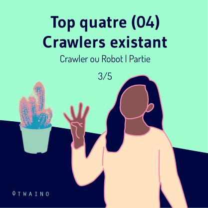 PARTIE 3 Carrousel Crawler ou Robot-01 Top 4