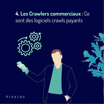 PARTIE 3 Carrousel Crawler ou Robot-08 Les crawlers commerciaux