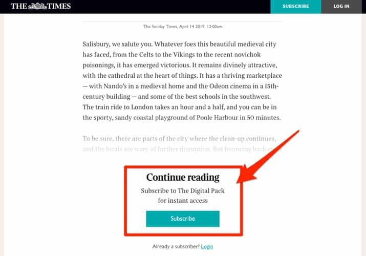 THE TIMES Continue reading