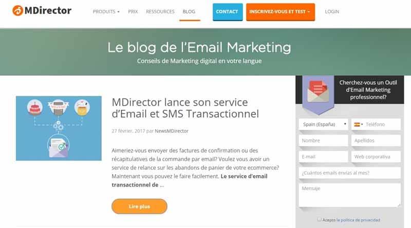 Le blog de l email Marketing
