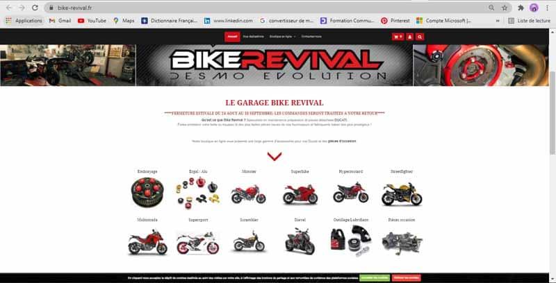 Site web de commerce electronique