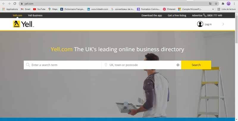 Site d annuaires d entreprises